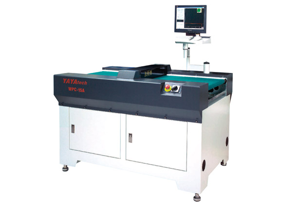 Board bending inspection machine