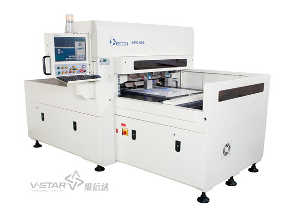 Automatic precision forming die cutting machine
